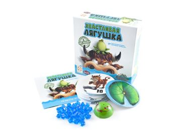 Хвастливая лягушка игра настольная