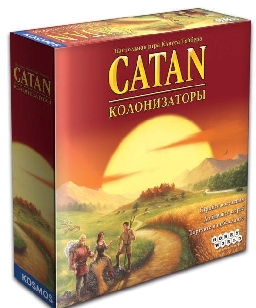 Настольная игра Колонизаторы (Catan)