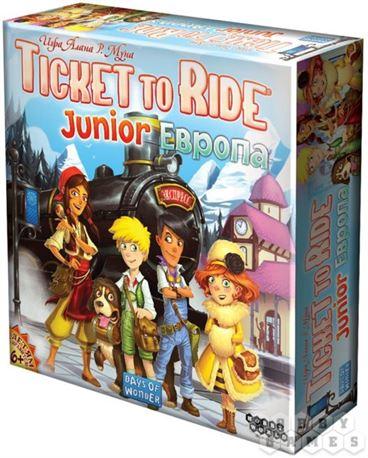 Ticket to Ride Junior Европа купить СПб