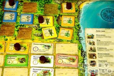 Настольная игра Пуэрто-Рико карта