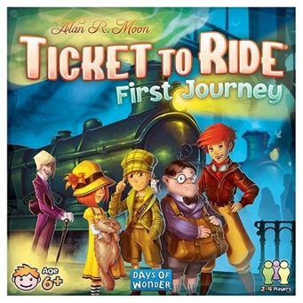 Билет на поезд First Journey