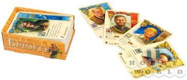 Настольная игра Брюгге: карты