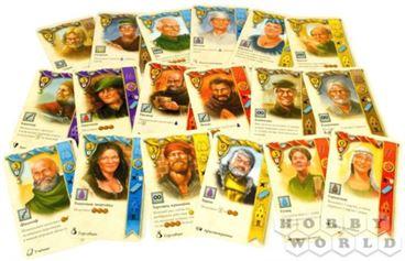 Настольная игра Брюгге: карточки