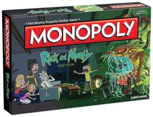 монополия рик и морти настольная игра